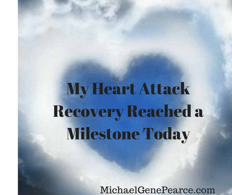 Heart Attack Recovery Reached a Milestone Today